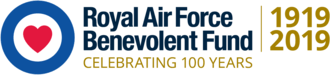 Logo for the Royal Air Force Benevolent Fund